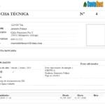 Informe -> Ficha técnica